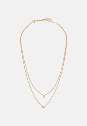 CARDED DISC - Necklace - gold-coloured