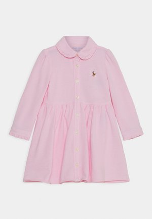 SOLID DRESS - Shirt dress - carmel pink