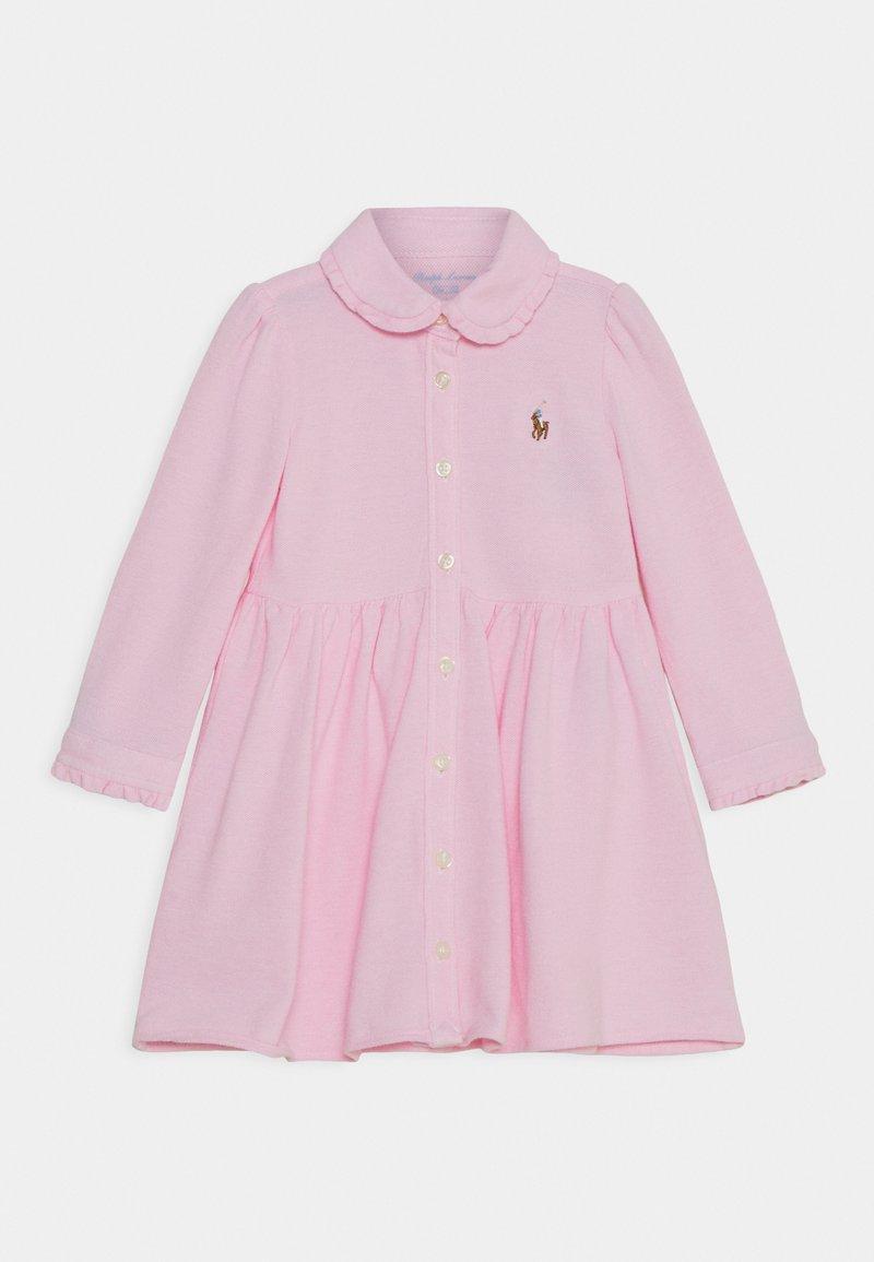 Polo Ralph Lauren - SOLID DRESS - Shirt dress - carmel pink