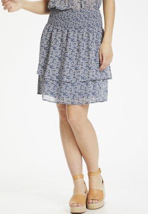 A-line skirt - coronet blue