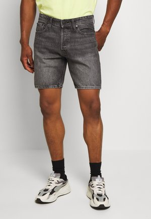 JJICHRIS JJORIGINAL  - Shorts di jeans - black denim