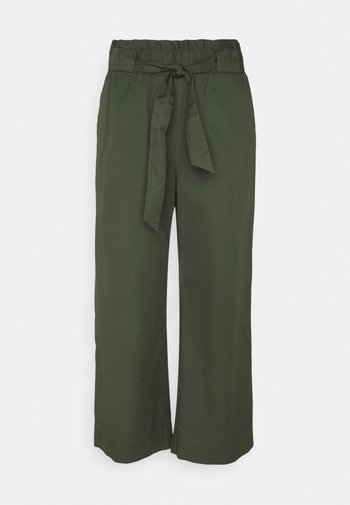 THE CULOTTE - Trousers - deep depth