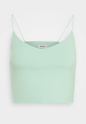 MITZI SINGLET - Top - sage green