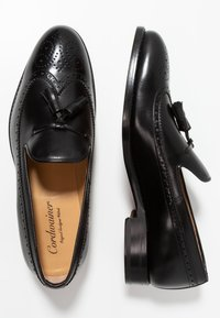 Cordwainer - BURNETT - Smart slip-ons - orleans black - 1