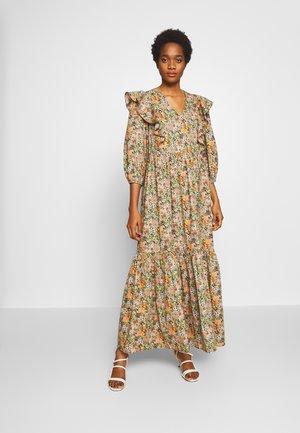 YASFLORALA ANKLE DRESS - Maxi dress - coral pink