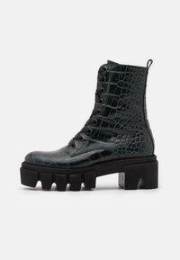 Kennel + Schmenger - ROOM - Platform ankle boots - bottle - 1