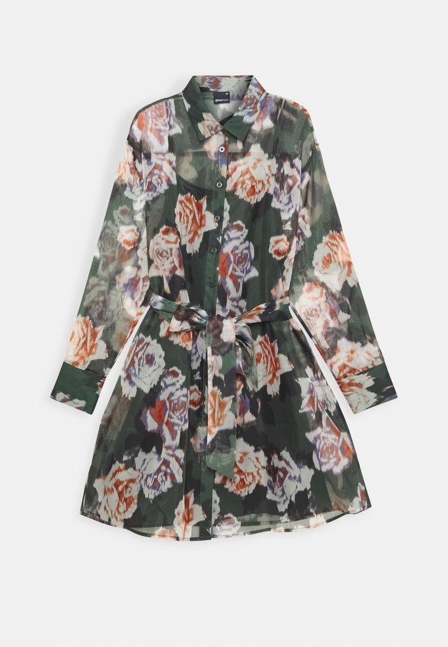 LIZA DRESS EXCLUSIVE - Blousejurk - green/rose