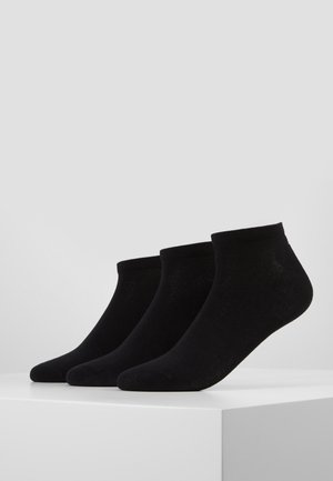 INVISIBLE 3 PACK - Chaussettes - black