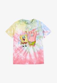 Next - SPONGEBOB  - Print T-shirt - pink - 0