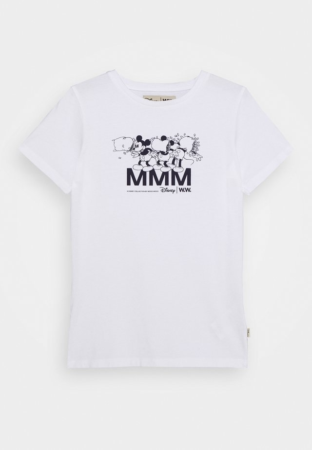OLA KIDS - T-shirt con stampa - bright white