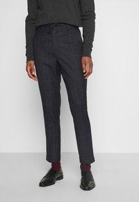 Isaac Dewhirst - CHECK UNSTRUCTURED - Costume - dark blue - 4