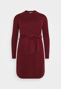 Anna Field Curvy - Jumper dress - dark red - 4
