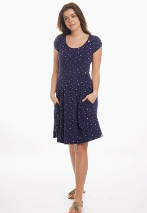 ROSI - Jersey dress - marine