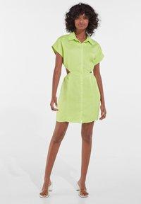 Bershka - Shirt dress - green - 1