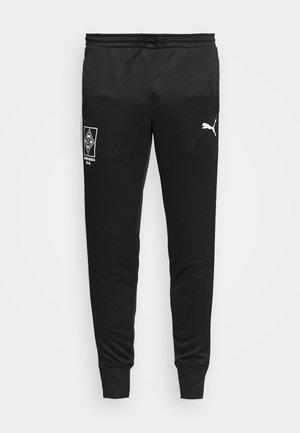 BORUSSIA MÖNCHENGLADBACH PANTS - Vereinsmannschaften - black/white