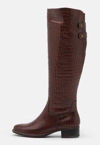 Tamaris - Vysoká obuv - mahogany - 1