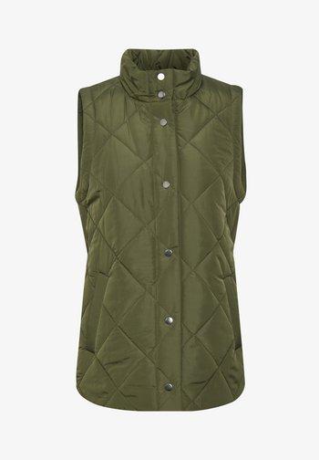 Waistcoat - evergreen