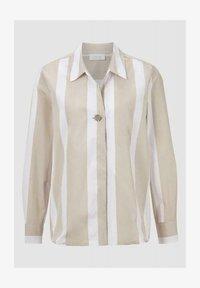 Rich & Royal - Button-down blouse - white coffee - 0