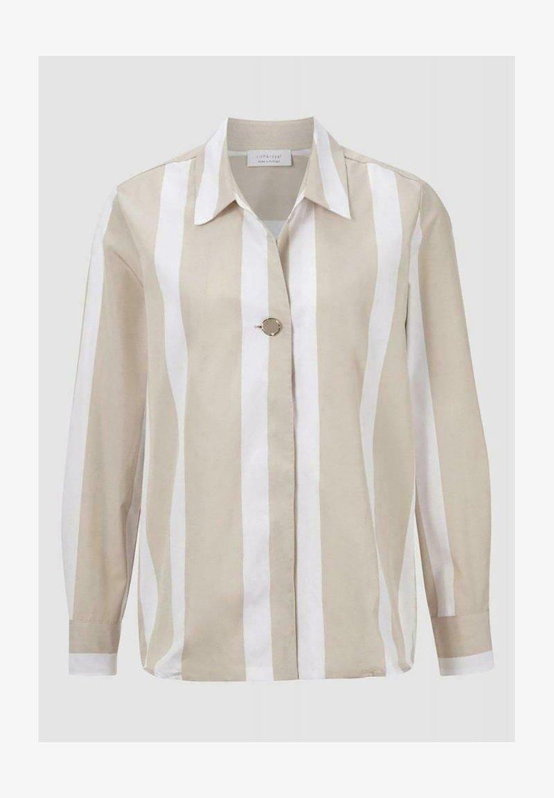 Rich & Royal - Button-down blouse - white coffee