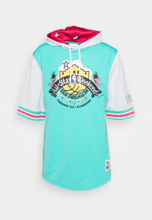 NBA ALL STAR FASHION HOODY - Print T-shirt - green/teal