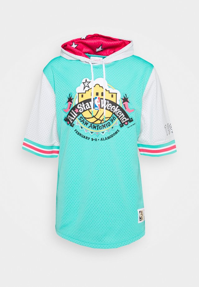 NBA ALL STAR FASHION HOODY - T-shirt con stampa - green/teal