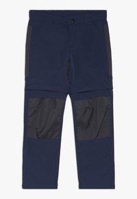 LEGO Wear - WEATHER PANTS - Outdoorové kalhoty - dark navy - 0