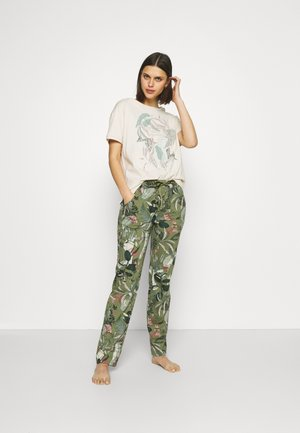 Pyjamas - sage green