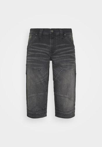 FREEMONT - Denim shorts - black denim