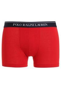 Polo Ralph Lauren - POUCH TRUNKS 3 PACK - Underkläder - white/red/blue - 6