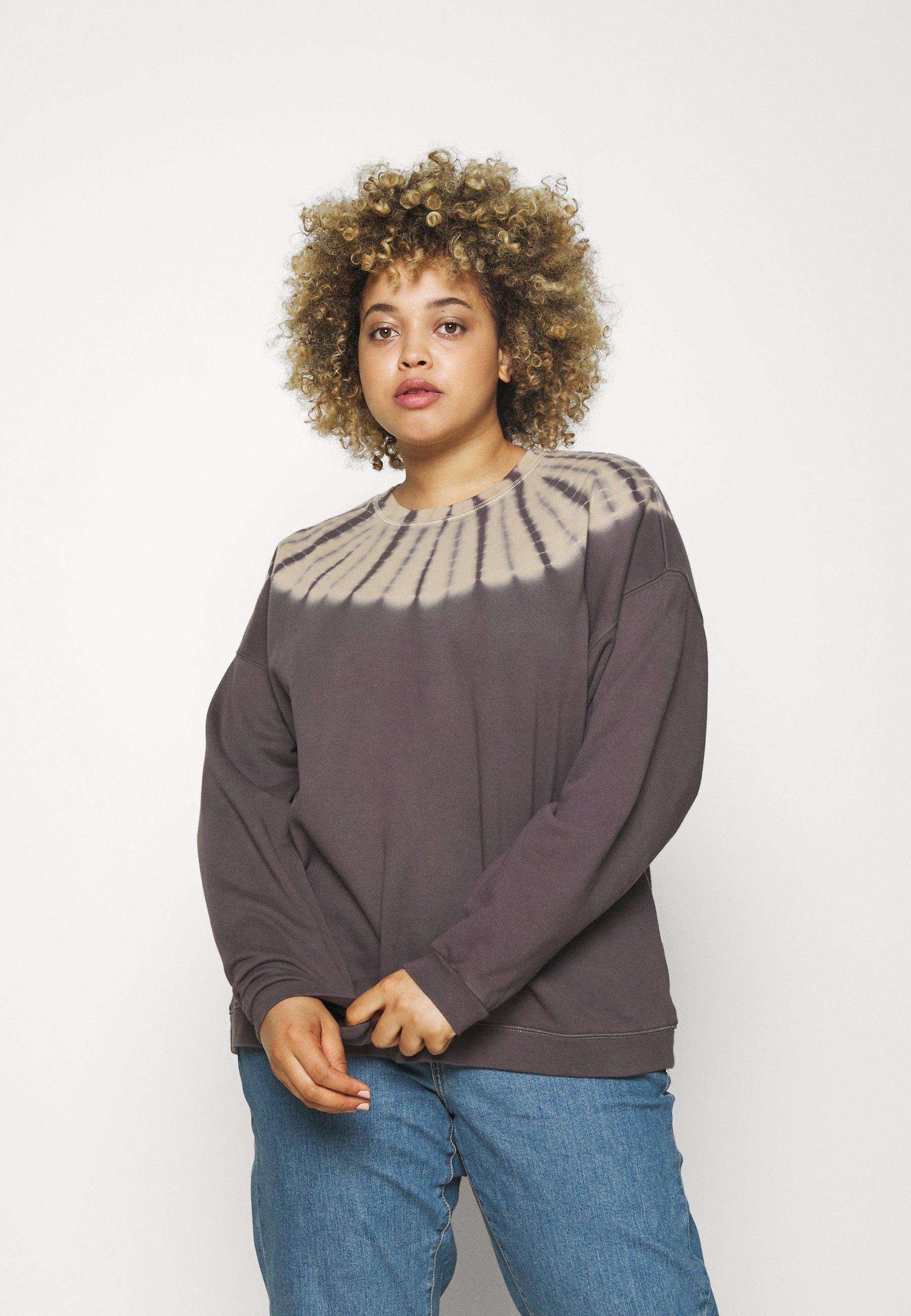 Women SWINGY TIE DYE - Sweatshirt