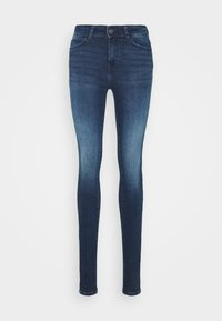 Noisy May Tall - NMLUCY - Jeansy Skinny Fit - dark blue denim - 0