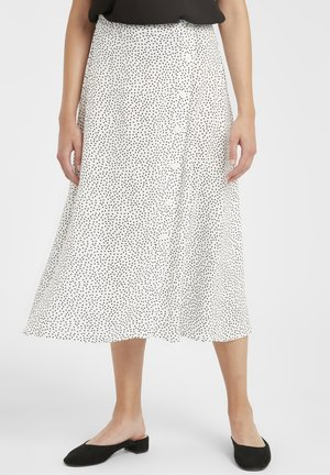 A-line skirt - off white combi