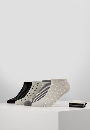8PP SPOT STRIPE  - Socks - grey