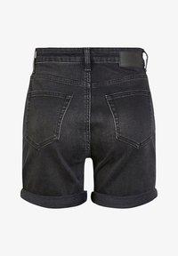 Pieces - Denim shorts - black - 1