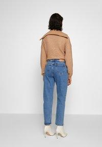 Samsøe Samsøe - MARIANNE - Relaxed fit jeans - light ozone marble - 1