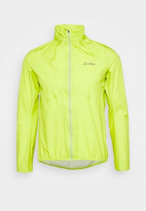 BIKE JACKET AERO POCKET - Větrovka - light green