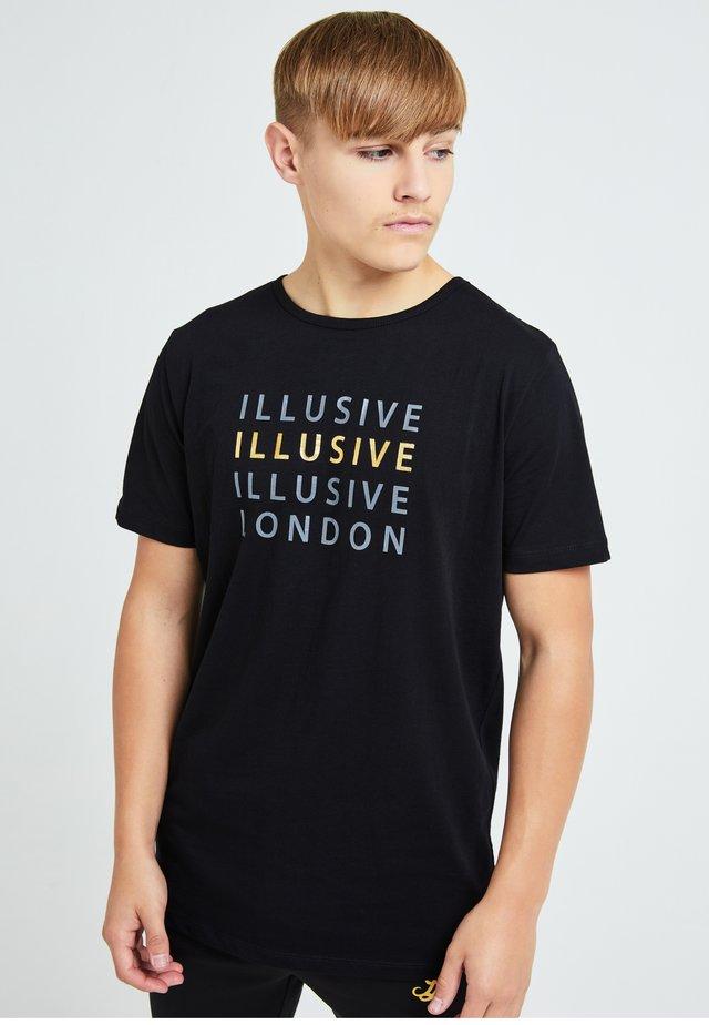ILLUSIVE LONDON SOVEREIGN[ - Print T-shirt - black