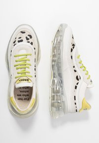 Bronx - BUBBLY - Sneakers laag - offwhite/lime - 3