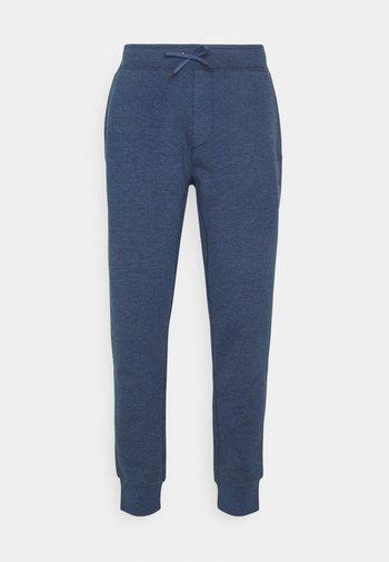 PANT - Tracksuit bottoms - derby blue heather