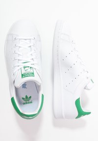 adidas Originals - STAN SMITH - Sneakersy niskie - white/green - 1