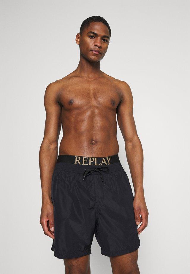 BEACHWEAR - Shorts da mare - black