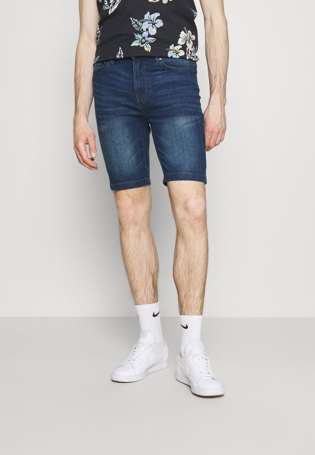 Shorts di jeans - mid wash