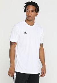 adidas Performance - TEAM 19 - Print T-shirt - white - 0