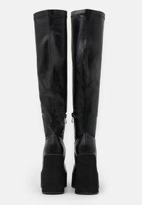 Koi Footwear - VEGAN - Boots med høye hæler - black - 3
