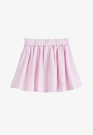 PINK BELTED SKIRT (3MTHS-7YRS) - Áčková sukně - pink