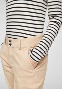 Q/S designed by - Long sleeved top - black stripes - 5