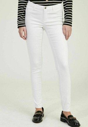 PENP43 - Spodnie materiałowe - white