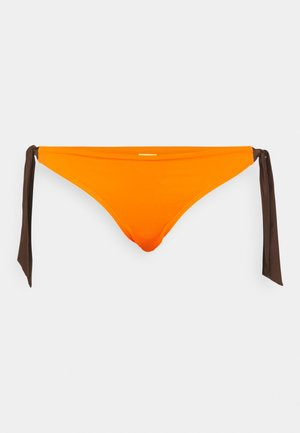 GIN TIE SIDE - Bikini bottoms - orange
