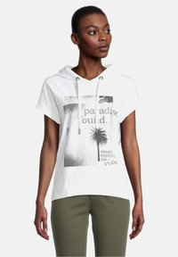 Cartoon - Print T-shirt - white/grey - 0