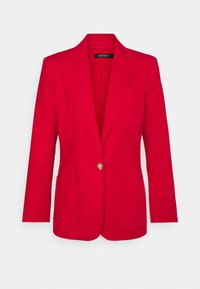 Lauren Ralph Lauren - STRETCH JACKET - Blazer - lipstick red - 5